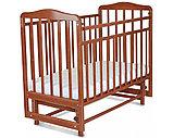 СКВ Кровать детская МИТЕНЬКА (маятник поперечный) венге, фото 2