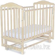 СКВ Кровать детская МИТЕНЬКА (маятник поперечный) 164005 береза снежная