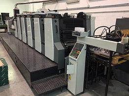 Komori 528 + LX б/у 2001г - пятикрасочная (+лак) печатная машина