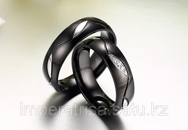 """Парные кольца для влюбленных """"На веки"""""""