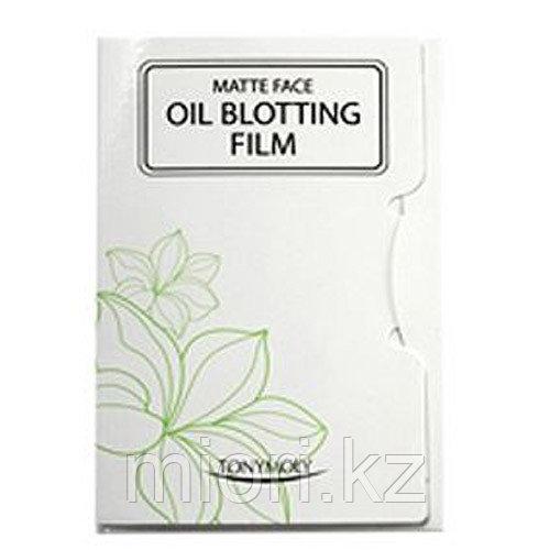 Матирующие салфетки для лица Tony Moly Matte Face oil blotting film