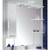 Зеркало со шкафом Акватон Эмили 105 левый, правый (1A008602EM01L, 1A008602EM01R)
