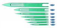 Челнок для вязания сетей тип A6 (159*12 мм)