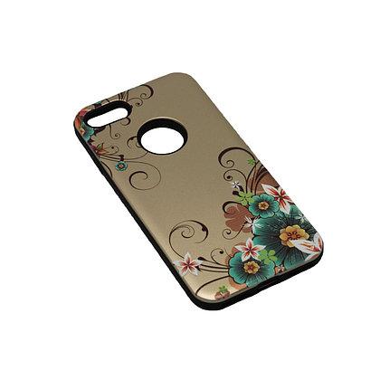 Чехол Силикон Черный с Рисунком 2 iPhone 7, фото 2