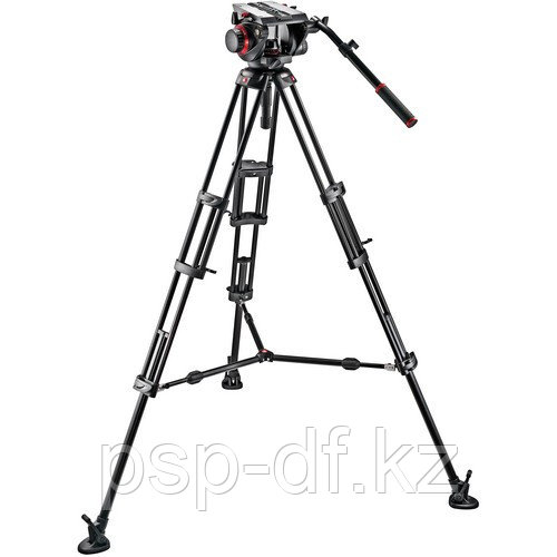 Штатив Manfrotto 509HD Video Head & 545B Aluminum Tripod Pro Middle-Twin Kit 100