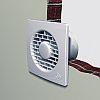 Вентилятор в туалет с обратным клапаном PUNTO FILO MF120/5 Т LL с таймером, фото 3