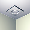 Бытовой вентилятор для ванных комнат и санузлов PUNTO FILO MF150/6 T HCS LL, фото 2