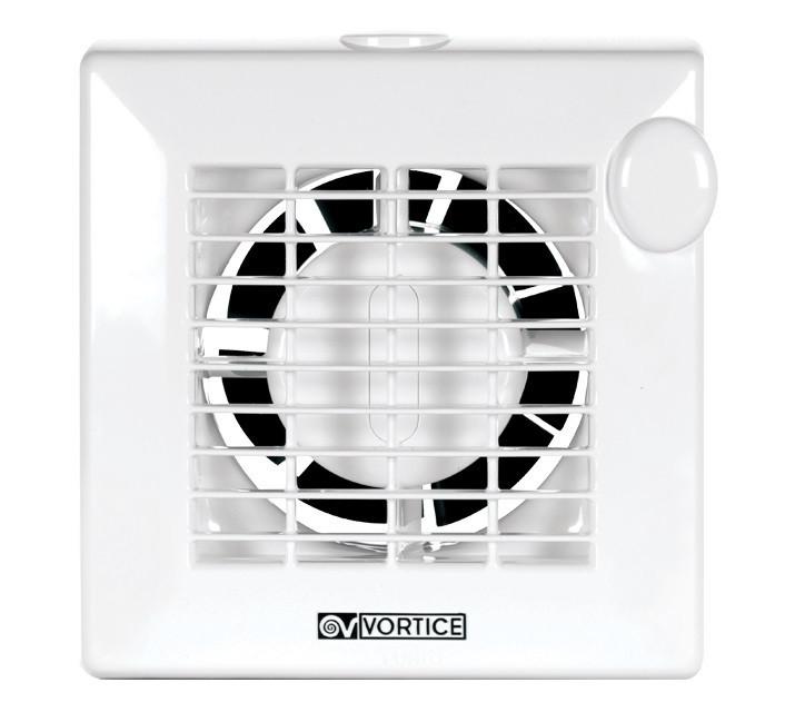 Вентилятор с клапаном в комнату PUNTO M100/4 Т с таймером