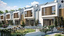 Проект современного дома «Таунхаус» 154,3 кв.м. из СИП панелей