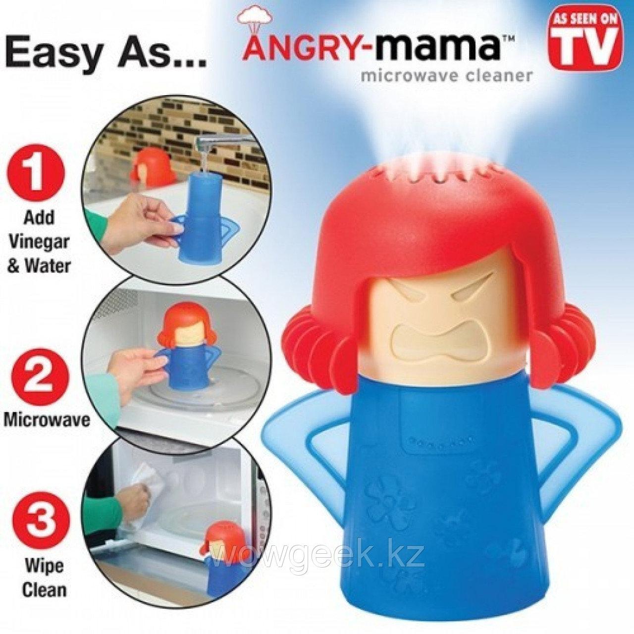 Очиститель микроволновой печи Angry Mama
