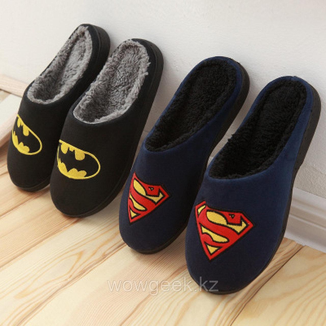Домашние тапочки Супер герой