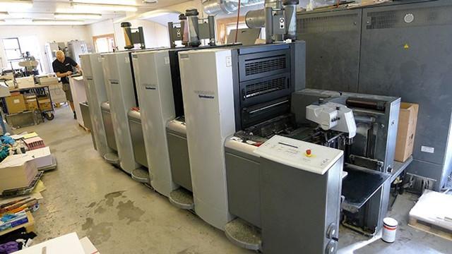 Heidelberg SM 52-4 Anicolor б/у 2009г - 4-х красочная печатная машина