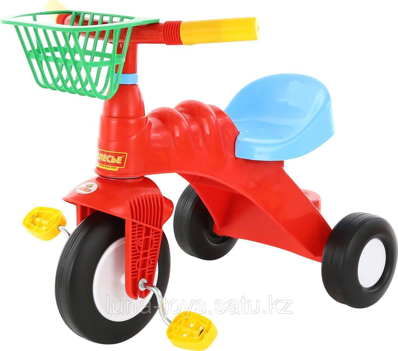 """Велосипед 3-х колёсный """"Малыш"""" с корзинкой"""