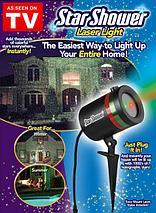 """Лазерный звездный проектор """"Звездопад"""" STAR SHOWER LASER LIGHT PROJECTOR, фото 3"""