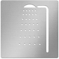 Символ душевая комната, 100mm