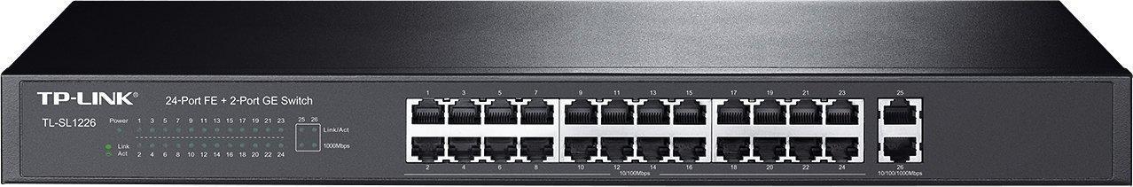 Коммутатор 24-портовый Tp-Link TL-SL1226