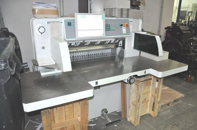Perfecta 76 TVC б/у 2012г - бумагорезательная машина