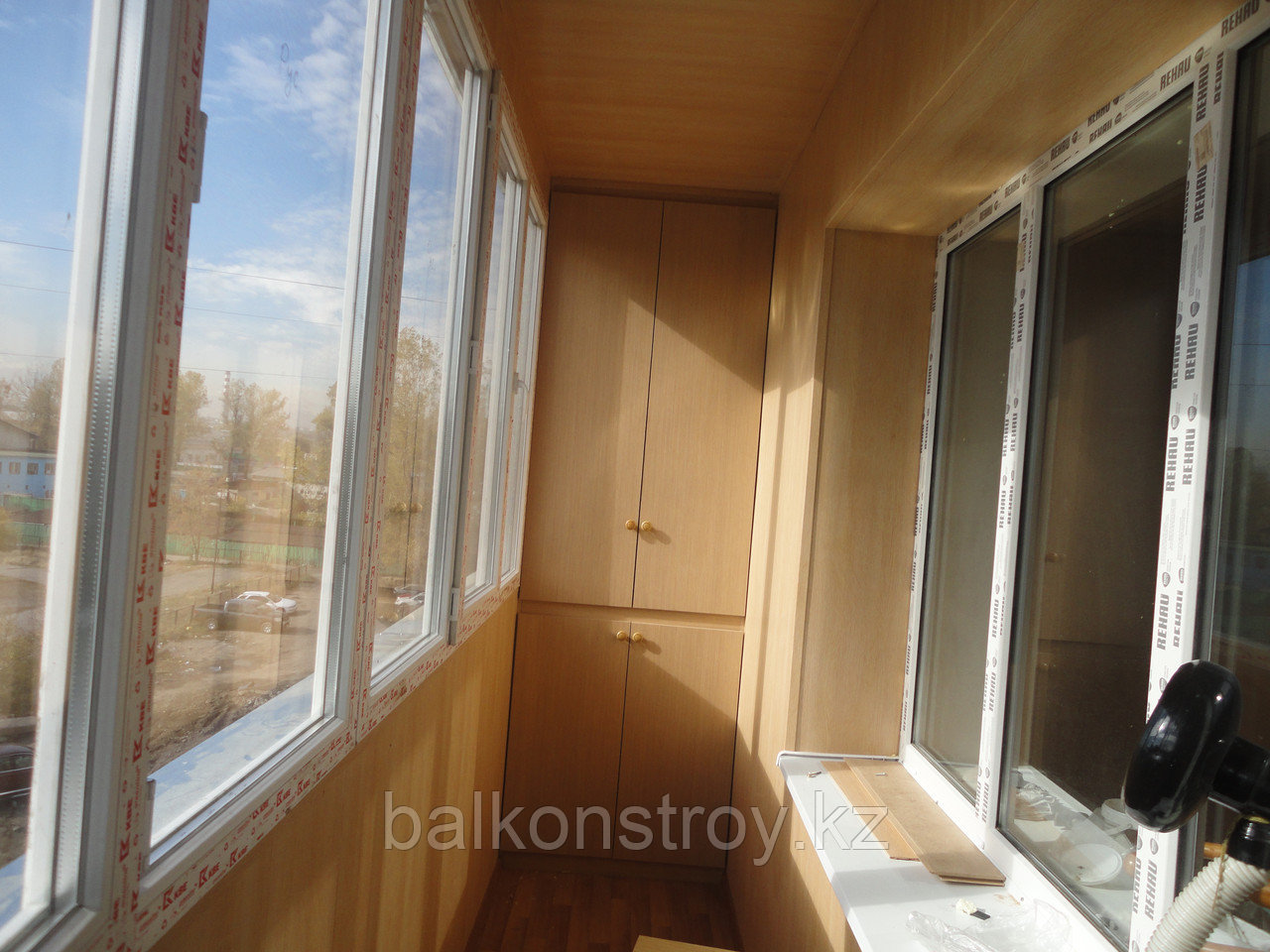 Остекление и утепление балконов, Алматы
