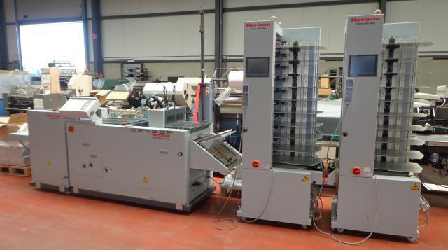 Horizon VAC-100ac б/у 2008г - брошюровальная линия