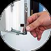 Замена ручек и фурнитуры пластиковых окон и дверей