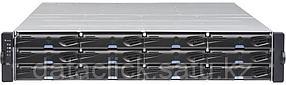 EonStor DS 3000 2U/24bay, Dual Redundant controller subsystem including 2x6Gb SAS EXP. Ports, 2xhost board slo