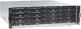 EonStor DS 3000 4U/24bay, Dual Redundant controller subsystem including2x6Gb SAS EXP. Ports, 8x1G iSCSI ports