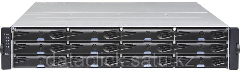 EonStor DS 3000 2U/24bay, Dual Redundant controller subsystem including 2x6Gb SAS EXP. Ports, 8x1G iSCSI ports