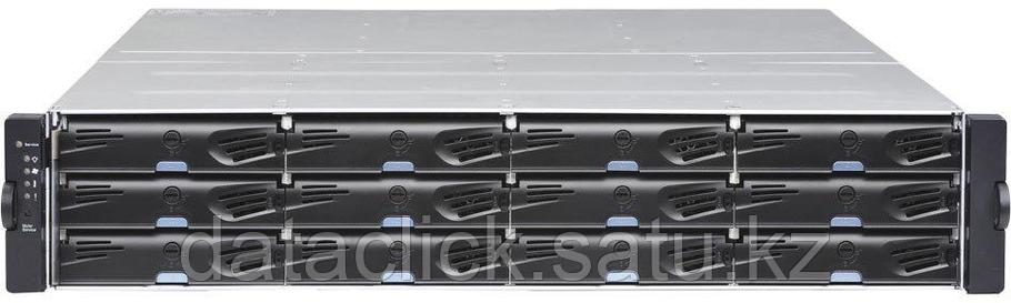 EonStor DS 3000 2U/24bay, Dual Redundant controller subsystem including 2x6Gb SAS EXP. Ports, 8x1G iSCSI ports, фото 2