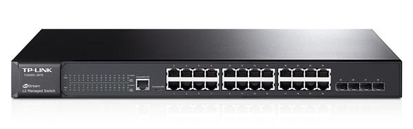 Коммутатор управляемый GbE 24-портовый Tp-Link T2600G-28TS (TL-SG3424)
