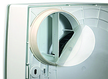 Центробежные вытяжные вентиляторы накладного исполнения QUADRO MICRO 80 T с таймером , фото 3