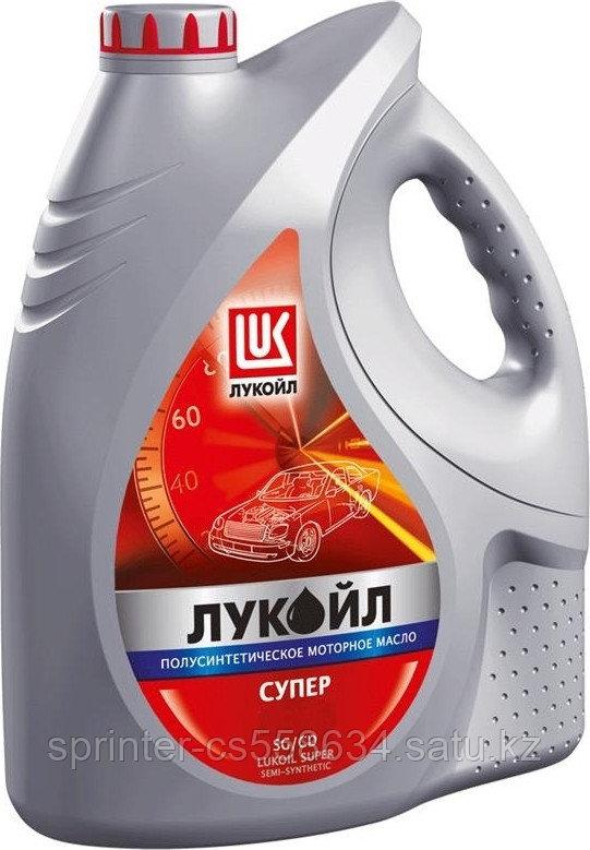 Моторное масло Лукойл Супер 10W40 5 литра