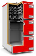 Угольный котел Q MAX PLUS 120, фото 1