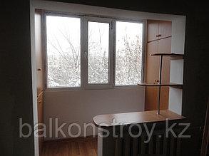 Остекление балконов и лоджий под комнату