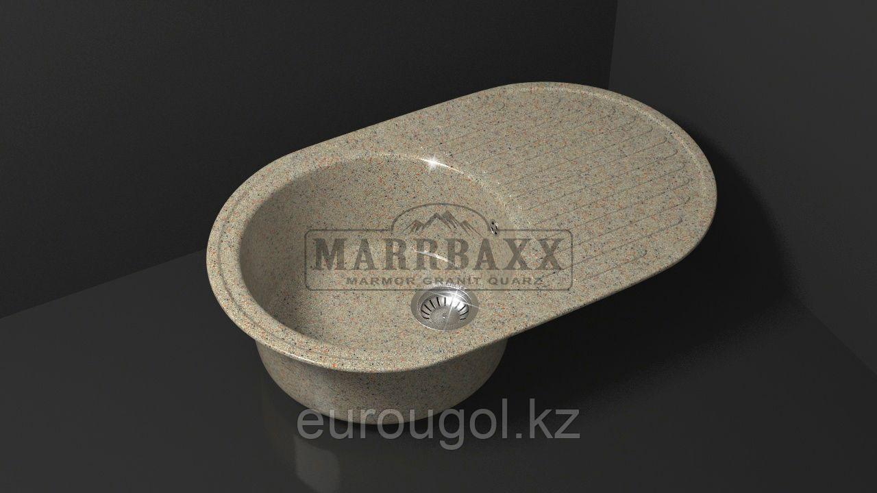 Мраморная кухонная мойка Marrbaxx Наоми 72