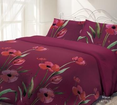 Комплект постельного белья Гармония - Маки 2