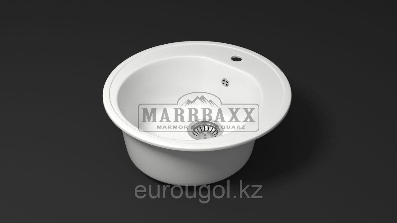 Круглая кухонная мойка Marrbaxx Черая 51