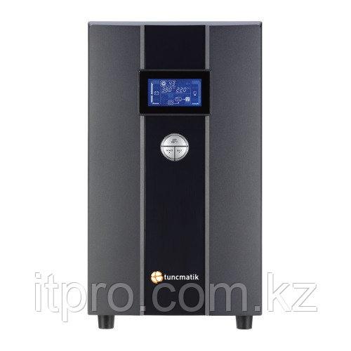 ИБП Tuncmatik/Newtech Pro/On-Line/Smart, 4 schuko, LCD/3 000 VА/2 400 W/25-60 minutes/TSK1364+18 батарей TSK14