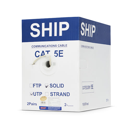 D135-2 - Кабель UTP SHIP Cat 5e PVC