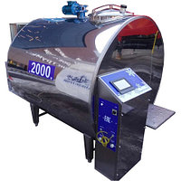 Охладитель молока закрытого типа ОЗ 2000 S\P, фото 1