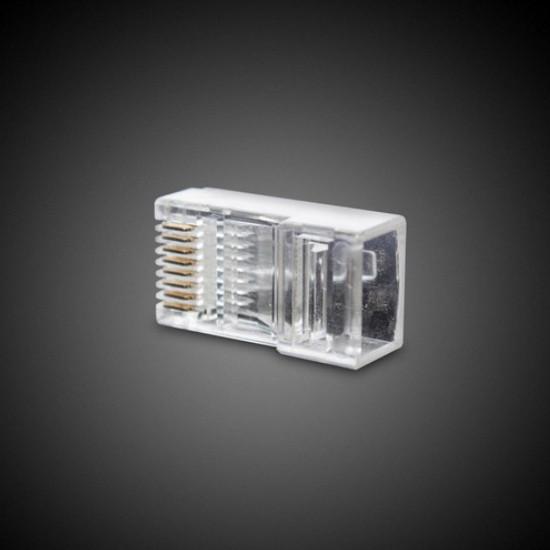 Коннектор информационный UTP RJ-45, 4 pin