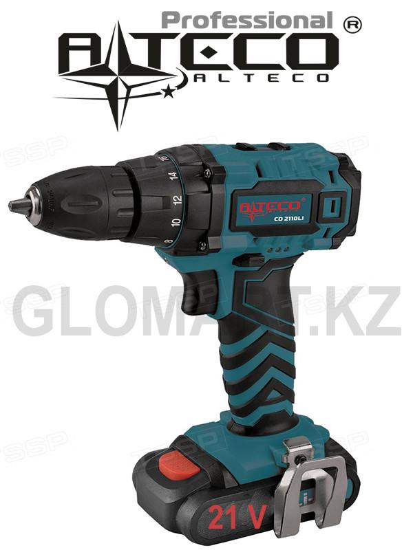 Дрель акуумуляторный Alteco CD 2110Li (Алтеко)