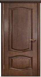 Межкомнатная шпонированная дверь Модена ДГ орех