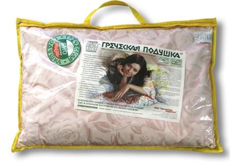 Греческая ортопедическая подушка Био М1 40х60 в футляре