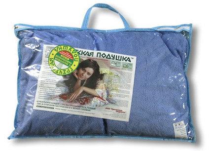 Греческая подушка Био М1 40х60 махрa в футляре ортопедическая