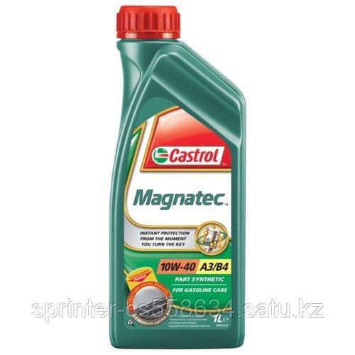 Моторное масло Castrol Magnatec 10w40 1 литр