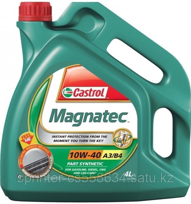 Моторное масло Castrol Magnatec 10w40 4 литра