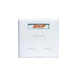 Розетка настенная SHIP A184-2