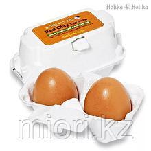 """Косметическое мыло для лица """"Holika Holika Egg Soap"""" на основе красной глины, 100г"""