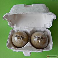 """Косметическое мыло для лица """"Holika Holika Egg Soap"""" с экстрактом зеленого чая, 100г"""