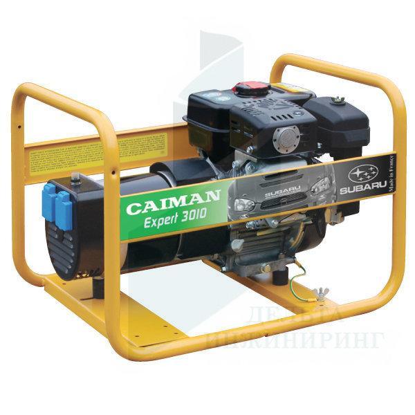 Генератор бензиновый Caiman Expert 3010X однофазный